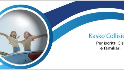 Kasko collisione per gli Iscritti Cisl e familiari