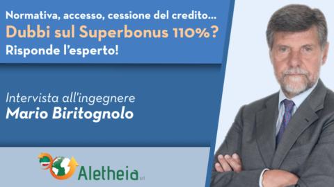 Speciale Superbonus 110% – Chiariamo tutti i dubbi con l'ingegnere Mario Biritognolo